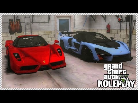 GTA 5 ROLEPLAY - BEST CAR COLLECTION IN CITY?? | Ep. 502 Civ