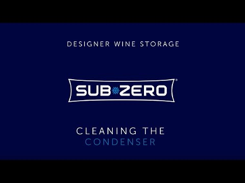 Sub-Zero Designer Wine Storage - How To Clean the Condenser
