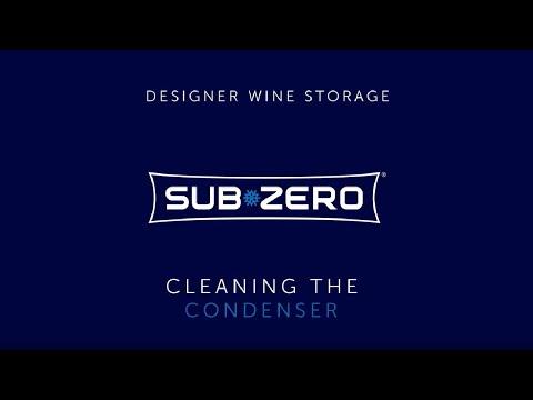 Sub-Zero Designer Wine Storage - How To Clean the Condenser