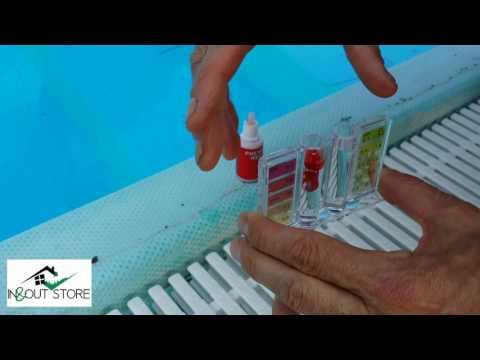 Come controllare i valori di PH e cloro della piscina