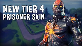 NEW TIER 4 PRISONER SKIN!!