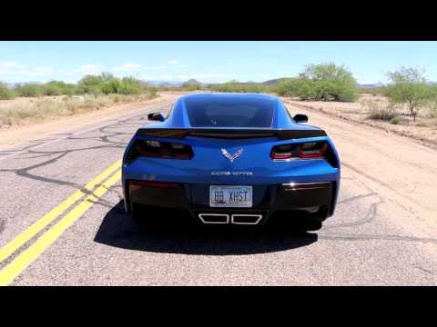 Chevy C7 Corvette with Fusion Exhaust Drive Off – Billy Boat Exhaust