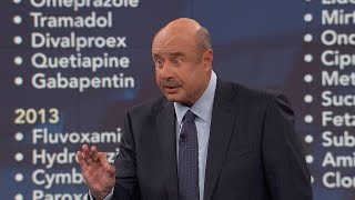 'That Is Absolutely Obscene' Says Dr. Phil Of Guest's Reported History With Childhood Prescriptio…