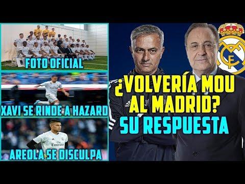 MOURINHO RESPONDE: ¿VOLVERÍA AL MADRID?   AREOLA PIDE PERDÓN   XAVI SE RINDE A HAZARD   FOTO