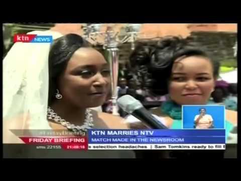 VIDEO: Match made in the newsroom: Betty Kyallo weds Dennis Okari