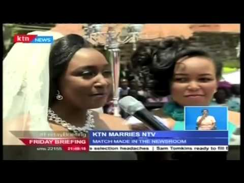 VIDEO: Match made in the newsroom: Betty Kyallo weds Dennis Okari