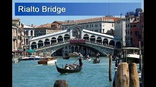 Venice: Rialto Bridge -in 4 minutes-Never seen before