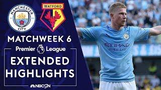 Manchester City v. Watford   PREMIER LEAGUE HIGHLIGHTS   9/21/19   NBC Sports