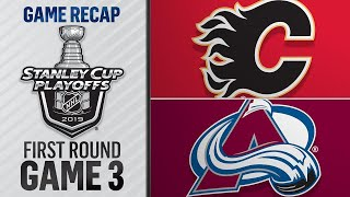 Avalanche rout Flames to take 2-1 series lead
