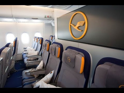 THE LUFTHANSA ECONOMY EXPERIENCE! | LOS ANGELES-FRANKFURT | A380 Mp3