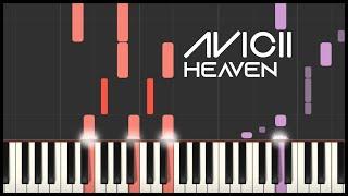 Avicii   Heaven (Piano Tutorial)