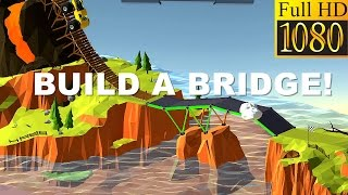 Build A Bridge! Game Review 1080P Official Boombit Games