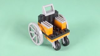 LEGO Wheel Chair Building Instructions - LEGO Classic 10715 How To