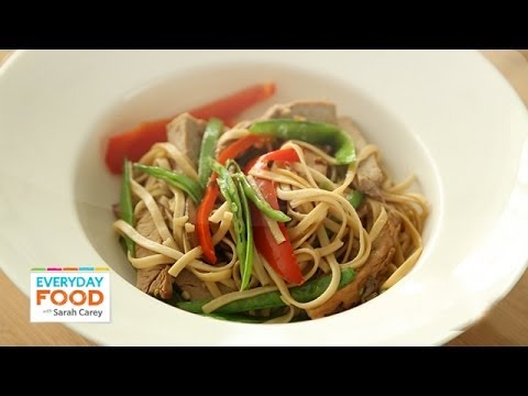 Lo Mein with Pork – Everyday Food with Sarah Carey