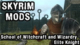 Skyrim Mod Spotlight: School of Witchcraft and Wizardry, Elite Knight