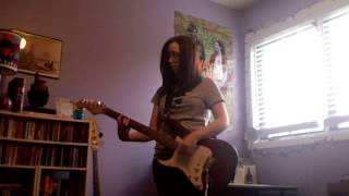 The Distillers- Dismantle Me (guitar cover)