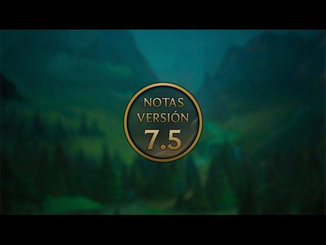Notas de la versión 7.5 - Cambios a Aatrox, Miss Fortune, maestrías y más