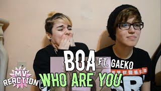 BOA (보아)   WHO ARE YOU (FEAT. GAEKO (개코) ★ MV REACTION