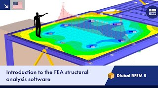 Dlubal RFEM 5 | Introduction to the FEA structural analysis software