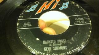 Gene Simmons , Haunted House , 1964 Vinyl 45 RPM