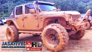 preview picture of video 'Its a Jeep Thing - Fun Tour thru Orocovis Nature, Rivers and Muddy Hills! JK Experience 2015'