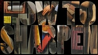 Sharpening A Wood Carving Knife How To Sharpen