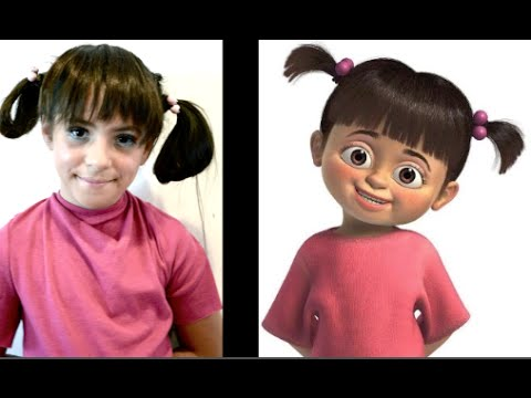 Boo From Monsters Inc. Transformation
