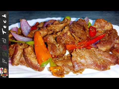 Mutton Stir Fry Recipe l Simple And Quick Fried Cooking Recipes by Food Tech