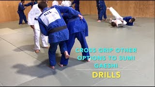 Cross Grip Attacking Options (other than sumi gaeshi)