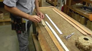 How To Prep Belts For Tooling