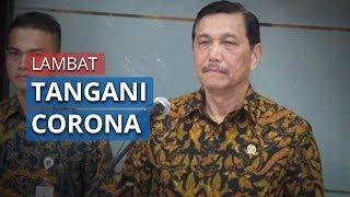 Presiden Jokowi Dituding Lamban Tangani Corona, Luhut Binsar Beri Bantahan