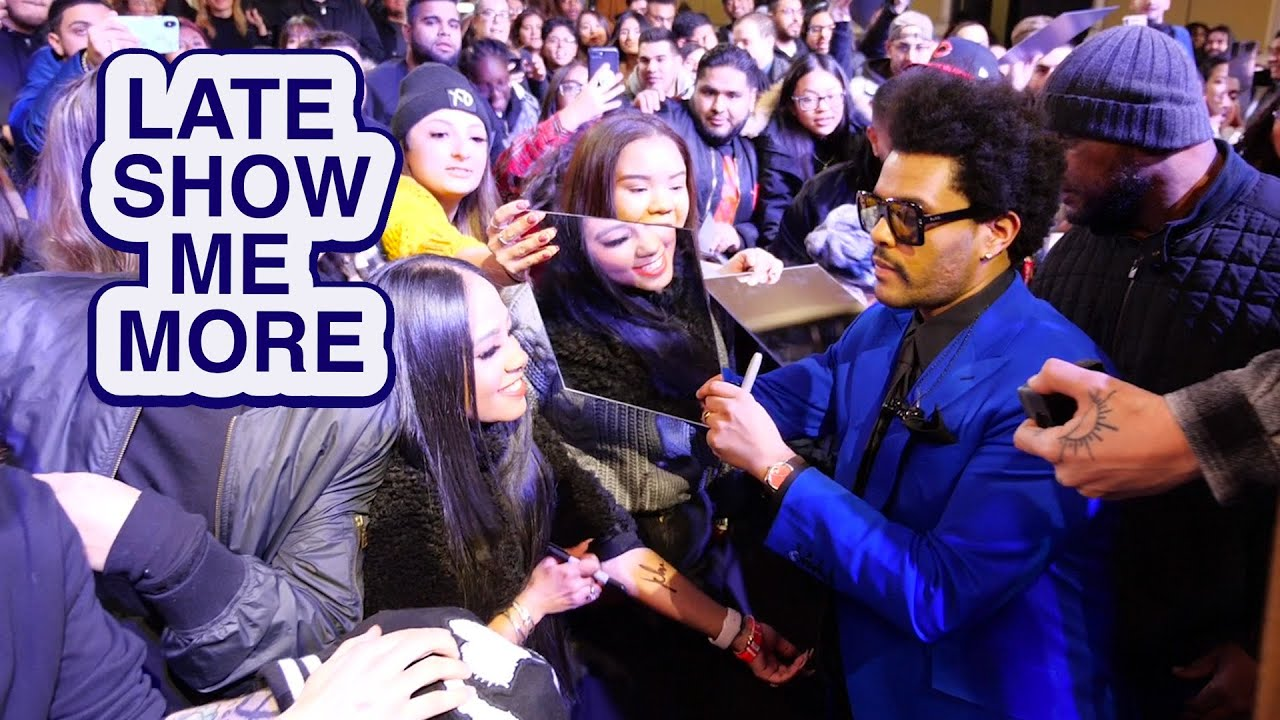 LATE SHOW ME MORE: It's Not Cold In Here! thumbnail