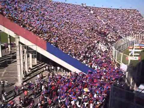 """HINCHADA DE SAN LORENZO DE ALMAGRO ante Boca Juniors / www.lacuerveriaweb.com.ar"" Barra: La Gloriosa Butteler • Club: San Lorenzo • País: Argentina"