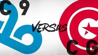 C9 vs. CG - Week 7 Day 1 | NA LCS Summer Split | Cloud9 vs. Clutch Gaming(2018)