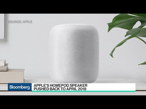 Why Apple Is Delaying the Release of Its HomePod Speaker