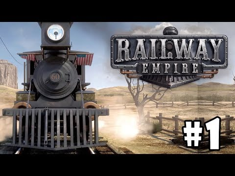 Railway Empire gameplay: Build & Ride Trains in Old-Timey