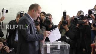 Bulgaria: President Radev casts vote in snap parliamentary elections