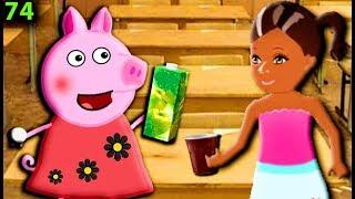Свинка Пеппа решила отомстить БАРБИ Мультфильмы для детей