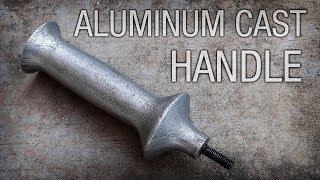 Aluminum Cast Tool Handle With Threaded Rod Insert
