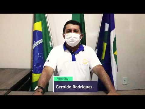 Geraldo Rodrigues fala sobre a prevenção do COVID-19.