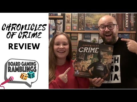 Board Gaming Ramblings: Chronicles of Crime Review