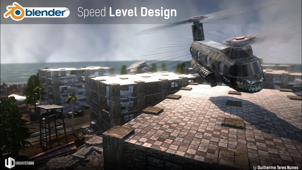 WAR | Speed Level Design | Blender Game Engine