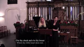 Uit ons kerstconcert Brothers and Sisters 26 december jl. A Cradle Song van B. Britten.