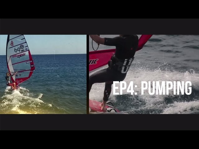 TWS Technique Series - Episode 4: How to Pump? Pumping tips windsurfing slalom