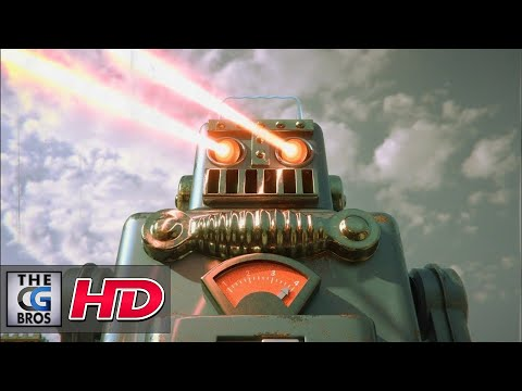 "CGI 3D Animated Short: ""Smoking Spaceman Robot""  – by Guillaume Rio Fournigault."