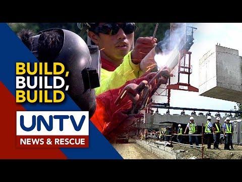 [UNTV]  Listahan ng mga proyekto sa infrastructure program ng Duterte administration, binago