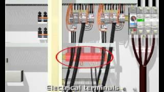hvac - chiller - chiller panel - component