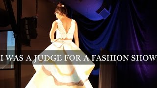 I was a Judge for a Fashion Show