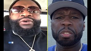 Rick Ross Says He Finally Squashed BEEF With 50 Cent 'We Realized To Make It Business