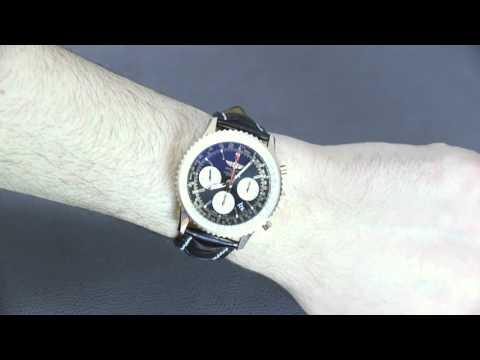 Breitling Navitimer 01 43mm 18k Red Gold Watch Review | aBlogtoWatch